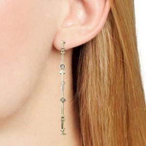 Single Kendra Scott Stud Hoop Earring Rose Gold